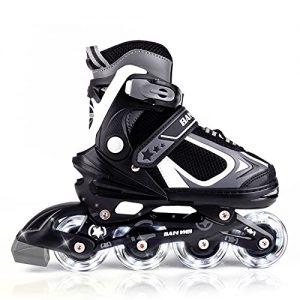 MammyGol Adjustable Inline Skates for Kids
