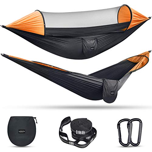 Outdoor Large Camping Hammock with Mosquito Net