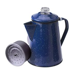 Percolator Coffee Pot for Brewing Coffee over Stove and Fire