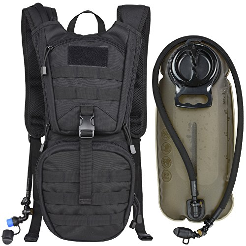 Military Daypack for Cycling, Hiking, Running, Climbing