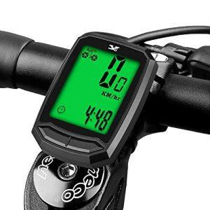 Waterproof Wireless Cycle Bike Bicycle Speedometer