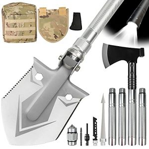 Multitool with Axe-Unbreakable Folding Camping Shovel