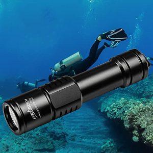 1000 Lumens Waterproof Diving Torch Submarine Diving