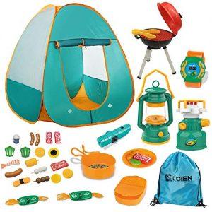 Mitcien Kids Camping Tent Gear Set Pop Up Play Tent