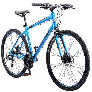 1200 Adult Hybrid Road Bike Matte Blue