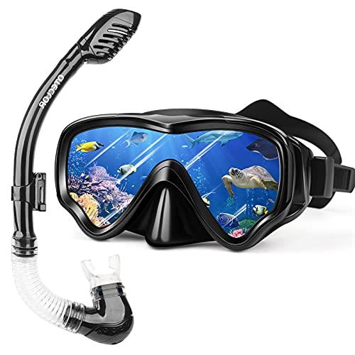 Snorkel Mask Set Snorkeling Gear