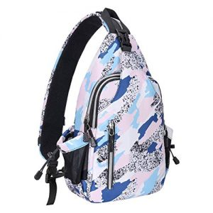 Sling Backpack Hiking Daypack Double Layer