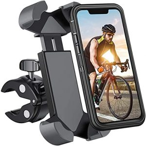 Motorcycle Handlebar Cell Phone Clamp