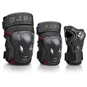 Bike Knee Pads and Elbow Pads with Wrist Guards Protective
