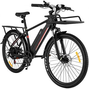 Casulo E Bikes for Adult, 26'' Electric Bike for Men