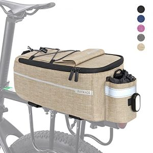 RAYMACE Bike Trunk Cooler Bag with Tail Light