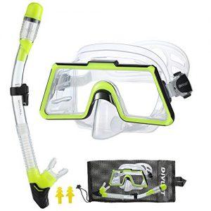 DiVLMT Adult Snorkeling Gear Large View