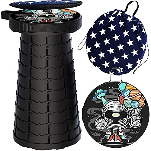 Lightweight Retractable Camping Stools Portable Telescopic