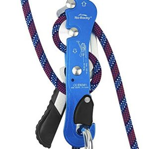 Ito Rocky Climbing Stop Descender Rappelling Anti-Panic Belay
