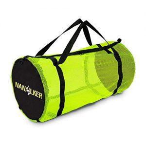 NAWALKER XL Mesh Dive Duffel Bag for Scuba or Snorkeling