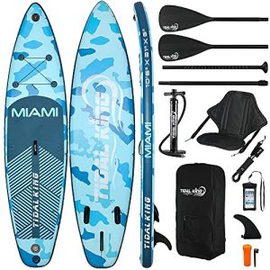 """Tidal King Miami 10' 6"""" Stand Up Paddle Board ISUP"""