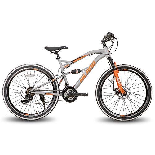 Hiland 26 Inch Mountain Bike Full-Suspension