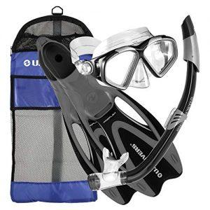 U.S. Divers Cozumel Seabreeze Adult Snorkeling Combo Set