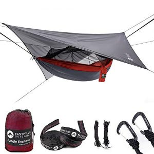 Double Camping Hammock Lightweight Ripstop Parachute