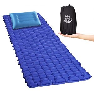 Sleeping Pads Camping Mats with Removable Pillows