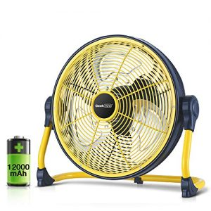 Rechargeable Powered High Velocity Portable Fan