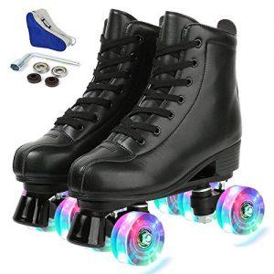 Adjustable Roller Skates Light Up Wheels