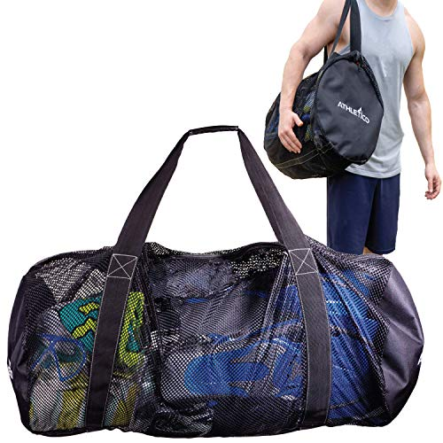 Athletico Mesh Dive Duffel Bag for Scuba or Snorkeling