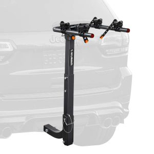 Bicycle Carrier Racks Hitch Mount Double Foldable Rack for Cars