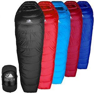 Hydrophobic Down Sleeping Bag with ClusterLoft Base - Ultra Lightweight