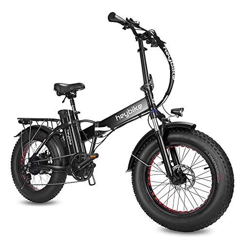 "Heybike Mars Electric Bike Foldable 20"" x 4.0 Fat Tire"