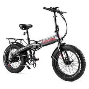 """500W 20"""" 4.0 Fat Tire Electric Bikes for Adults"""