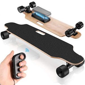 Electric Skateboard for Adults with Wireless Remote