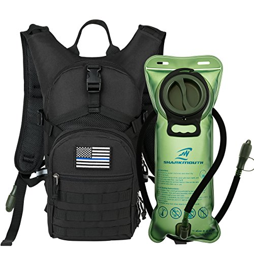 Hydration Pack Backpack 900D with 2L Leak-Proof Water Bladder
