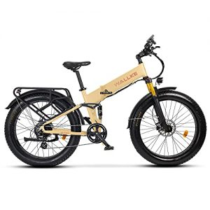 Wallke X3 Pro26-inch Upgrade The Frame Fat Tire Electric Bicycle