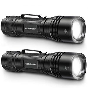 Camping, Outdoor & Emergency Use LED Tactical Flashlights