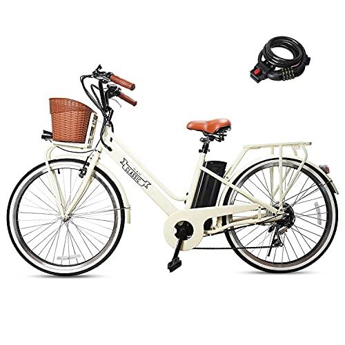 "NAKTO 250W Electric Bike 26"""