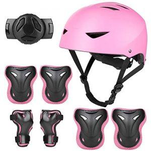 WayEee Kids Bike Helmet Knee Elbow Pads