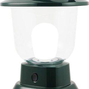 Bright White Finish LED Lantern Tornado & Emergency