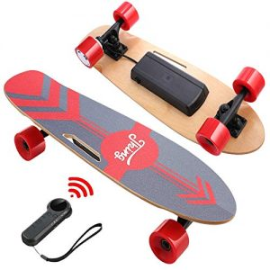 Electric Skateboard with Wireless Remote for Adult and Teens