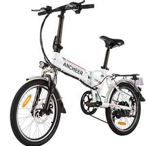 Folding Electric Bike Commute Removable Battery