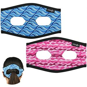 Diving Mask Strap Cover Wrapping Strap with Rear Blank Design