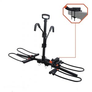 Bike Rack Carrier with Bumper Mount Adapter