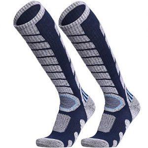 WEIERYA Ski Socks 2 Pairs Pack