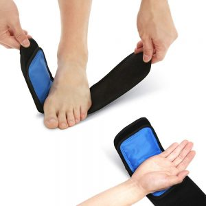 Cold & Hot Therapy Wrap, Reusable Gel Pack for Pain Relief.