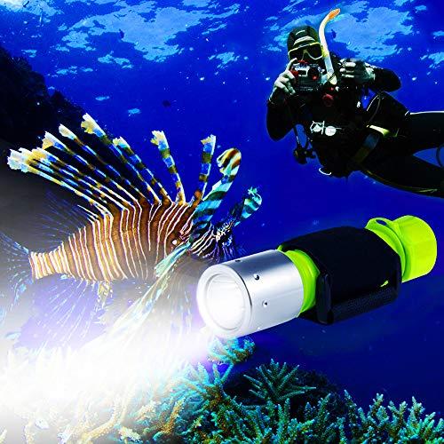 Scuba Diving Flashlight Waterproof Diving Torch