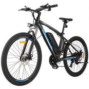 Electric Mountain Bike with Removable 10/10.4Ah Battery