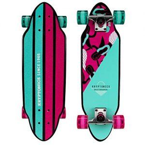 "Kryptonics Mini Cutaway Cruiser 26"" Complete Skateboard"