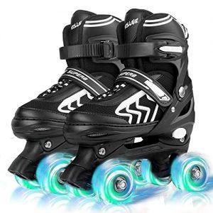 SZHZS Kids Roller Skates for Girls Boys Child Beginners