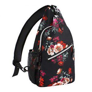 Travel Hiking Daypack Crossbody Shoulder Bag
