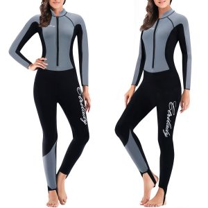 CtriLady Wetsuit, Women 1.5mm Neoprene Full Wetsuit